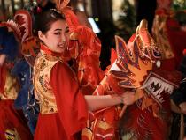Заказать недорого танец с драконами Москва