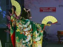 Японский танец осенний листопад с веерами заказать Москва