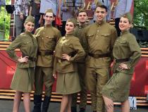 Танцевальный коллектив - №1 с военной программой в Москве