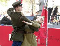 Танцевальный коллектив с военной программой - №1 заказать в Москве