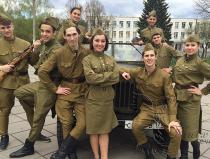Танцевальный коллектив с военной программой - №1