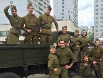 Заказать недорого в Москве танцевальный коллектив с военной программой - №1