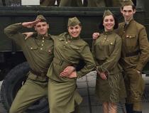 Заказать в Москве танцевальный коллектив с военной программой - №1