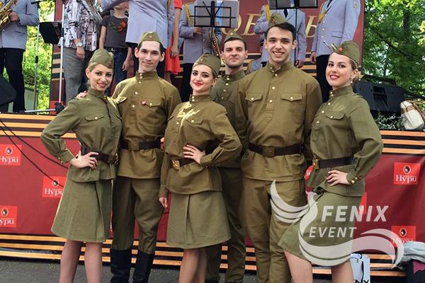 Артисты на 23 февраля, 9 мая Москва