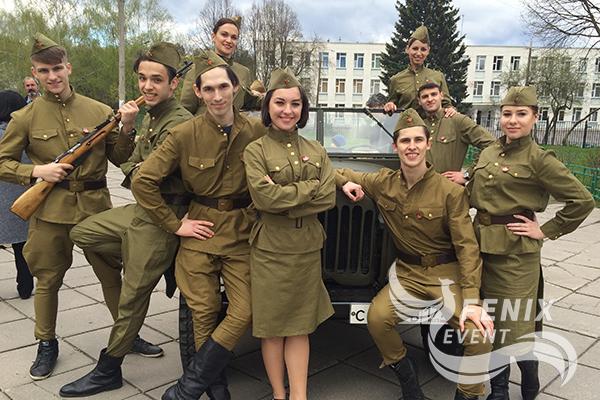 Танцевальный коллектив с военной программой Москва
