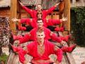 Акробатическое шоу в русском стиле в Москве