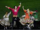 Московский театр танца Гжель на Фестивале в честь празднования 70-летия Победы над фашизмом во Второй мировой войне