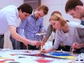 Мастер-класс по живописи для сотрудников