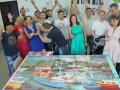 Творческий тимбилдинг в офисе в Москве.