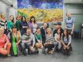 Заказать проведение творческого тимбилдинга в офисе в Москве.