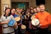 Творческий тимбилдинг в офисе заказать в Москве