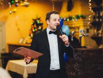 Евгений - веселый ведущий на юбилей, День Рождения, свадьбу, корпоратив в Москве