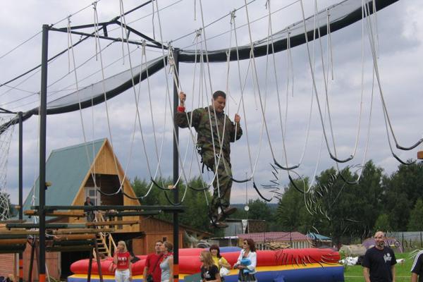 Верёвочный тимбилдинг, верёвочный курс