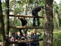 Спортивный тимбилдинг в Москве - верёвочный курс