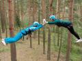 Спортивный тимбилдинг - веревочный курс