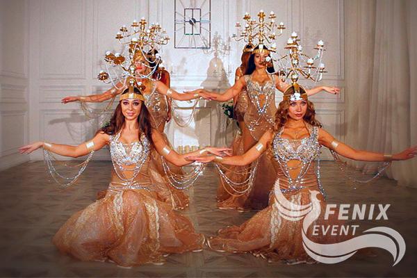Заказать коллектив восточных танцев Москва