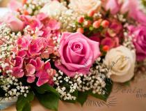 Букет на стол жениха и невесты