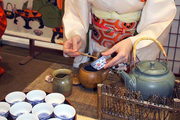 Японская чайная церемония Москва