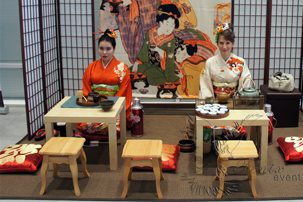 Японская чайная церемония на мероприятие Москва