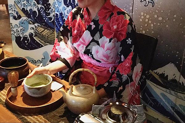 Японская чайная церемония на праздник Москва