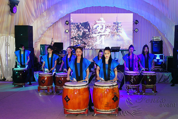 Японская вечеринка в Москве