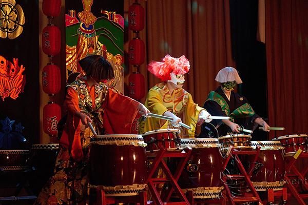 Японское танцевальное шоу Москва
