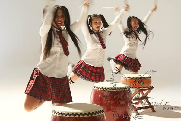 Заказать шоу японских барабанщиков Москва