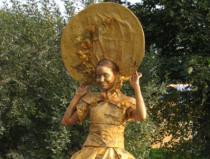 Живые скульптуры на праздник