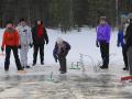 Спортивный зимний тимбилдинг на природе в Москве и Подмосковье