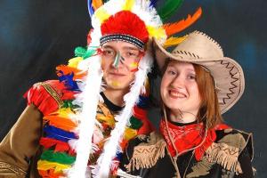 Детская развлекательная программа Ковбои и индейцы на праздник в Москве