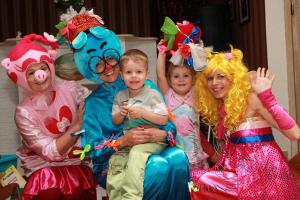 Детские аниматоры на праздник в Москве
