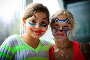 Детский аквагрим на праздник в Москве