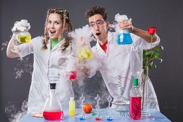Детское химическое шоу на выпускной в Москве