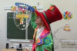 Шоу гигантских мыльных пузырей в Москве