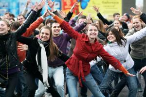 Танцевальный тимбилдинг в Москве