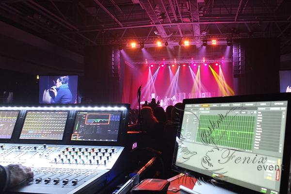 Техническое обеспечение мероприятий Москва звук свет сцена