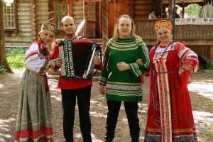 Тимбиллдинг в русском народном стиле