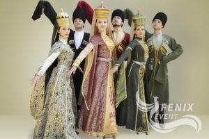 Кавказские танцоры на праздник Москва