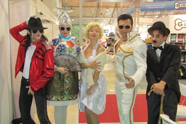 Двойники звезд на праздник в Москве недорого