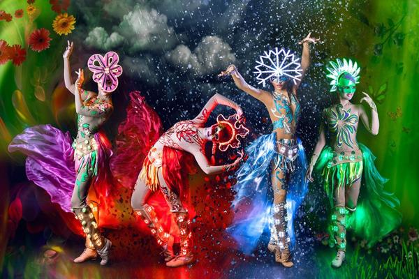 Световое шоу недорого в Москве на праздник