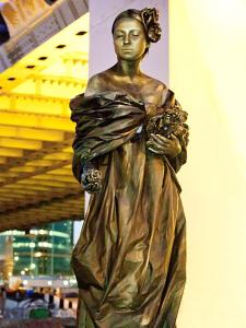 Живые статуи скульптуры в Москве