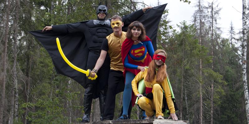 Проведение детских праздников с супергероями