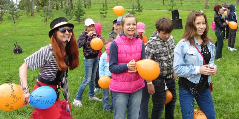 Проведение веселых детских праздников Москва