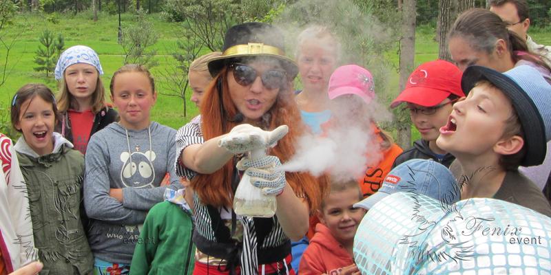 Увлекательное химическое шоу на детский праздник