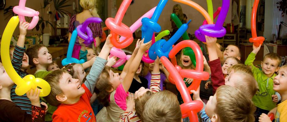 Организация детского праздника в Москве