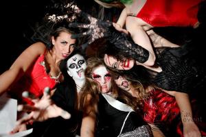 Тематическая вечеринка в стиле хэллоуин в Москве