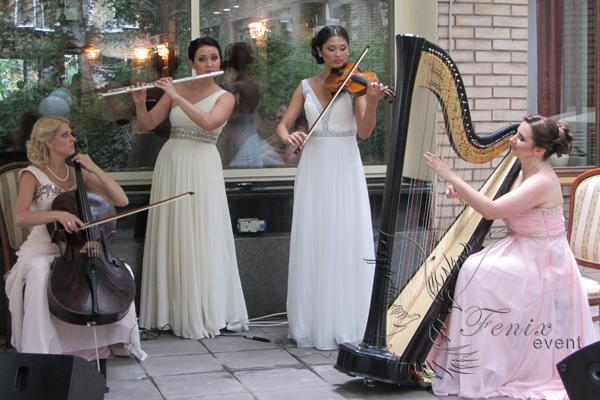 Женский инструментальный коллектив на праздник