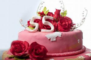 Подарок женщине на юбилей 55 лет