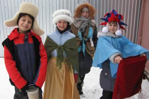 Колядки детей на Рождество