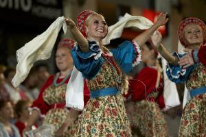 Народный танцевальный коллектив